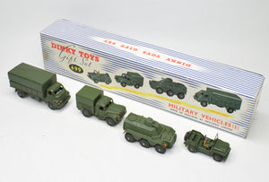 Dinky toy Gift set 699 Military Vehicles Very Near Mint/Boxed 'Brecon' Collection