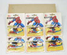 Corgi Junior 75 trade sleeve of 6 Spidercopters Mint/Blistered 'Finley' Collection