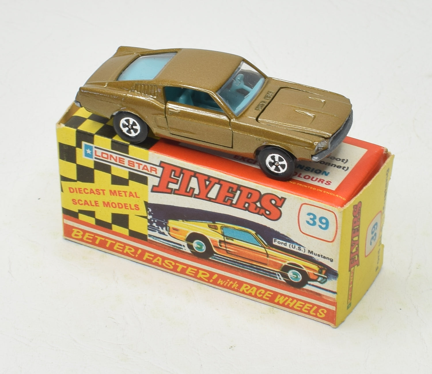 Lone Star Flyer Ford Mustang Very Near Mint/Boxed 'Victoria' Collection
