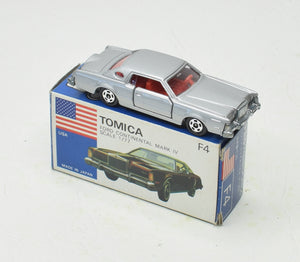Tomica F4 Ford Continental Mark IV Virtually Mint/Boxed The 'Victoria' Collection