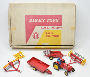 Dinky toys 398 Farm Equipment Gift set Very Near Mint/Boxed 'Brecon' Collection