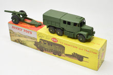 Dinky 689 Medium Artillery Tractor & Dinky 693 7.2 Howitzer Very Near Mint/Boxed 'Brecon' Collection