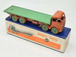 Dinky Toys 502 Foden Flat bed Virtually Mint/Boxed