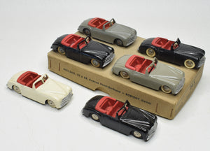 French Dinky 24s Simca 8 Sport Trade pack of 6 'Brecon' Collection
