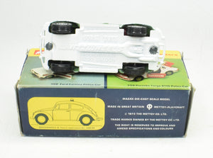Corgi toys 373 VW 1200 'Polizei' Very Near Mint/Boxed (Light green version)