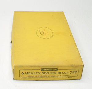 Dinky 797 Healey Sport's Boat Trade pack of 6 'Brecon' Collection