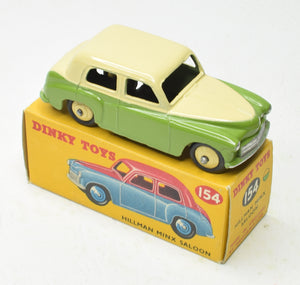 Dinky Toys 154 Hillman Minx Virtually Mint/Boxed