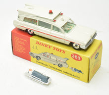 Dinky toys 263 Superior Criterion Ambulance Very Near Mint/Boxed 'Carlton' Collection