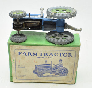 Charben's Mechanical Farm Tractor Near Mint/Boxed (Incredibly rare blue version March 1951)
