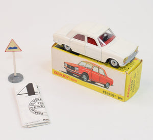 French Dinky Toys 1428 Peugeot 304 Very Near Mint/Boxed 'Brecon' Collection Part 2