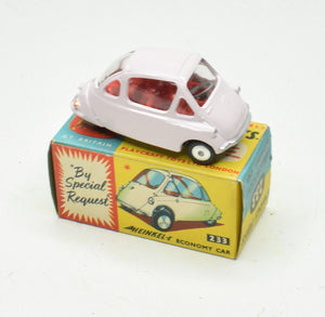 Corgi toys 233 Heinkel Very Near Mint/Boxed 'Wickham' Collection