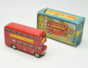 Milton Toys 337 Double Decker Bus Very Near Mint/Boxed 'Wickham' Collection