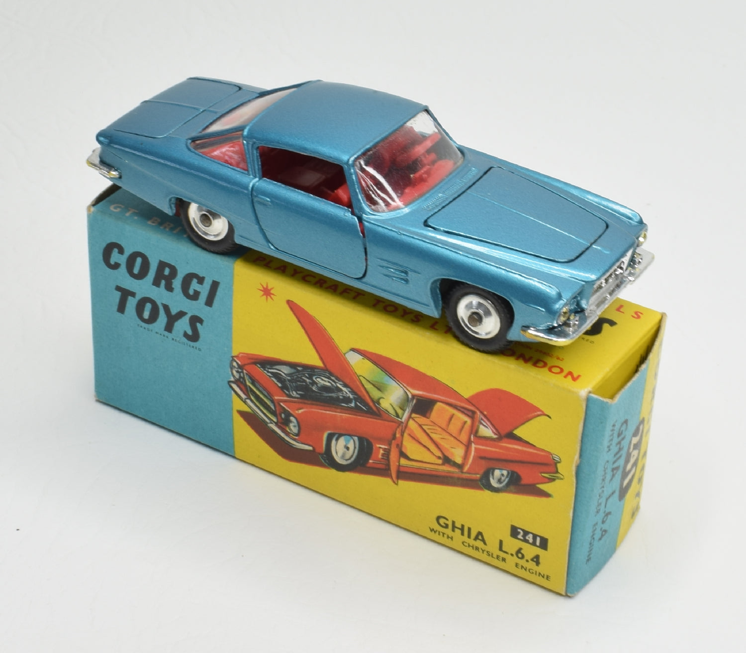 Corgi toys 241 Ghia 6.4 Virtually Mint/Boxed