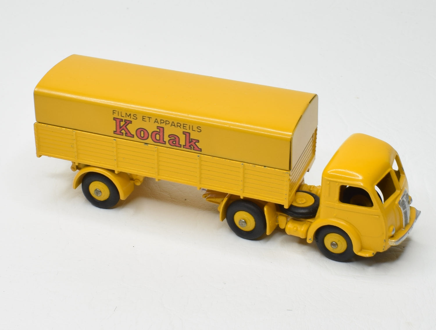 French Dinky 32AJ Panhard Articulated Lorry 'KODAK' Very Near Mint/Boxed 'Carlton' Collection