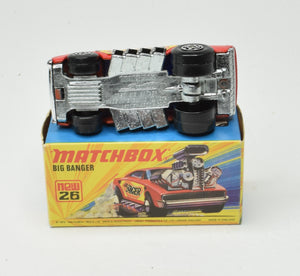 Matchbox Superfast 26 Big Banger Virtually Mint/Boxed The 'Finley' Collection