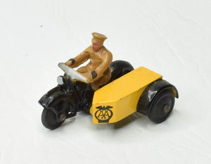 Dinky 44b A.A Motorcycle Virtually Mint 'Brecon' Collection