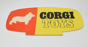 Corgi toys POS sticker Mint 'Finley' Collection