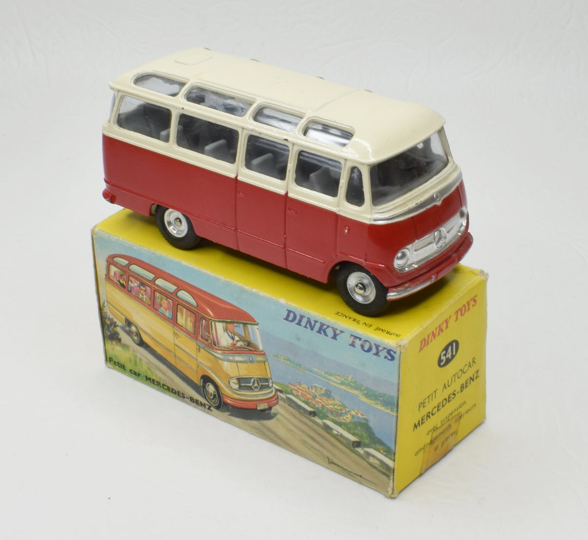 French Dinky  Mint/Boxed Mercedes-Benz Bus Very Near Mint/Boxed 'P.C.R' Collection