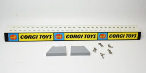 Corgi toys shelf tin stand 'Point of Sale' Mint