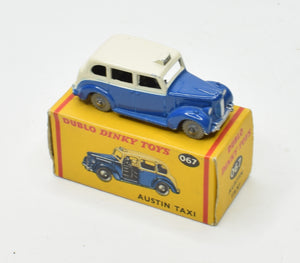 Dublo Dinky toy 067 Austin Taxi Very Near Mint/Boxed
