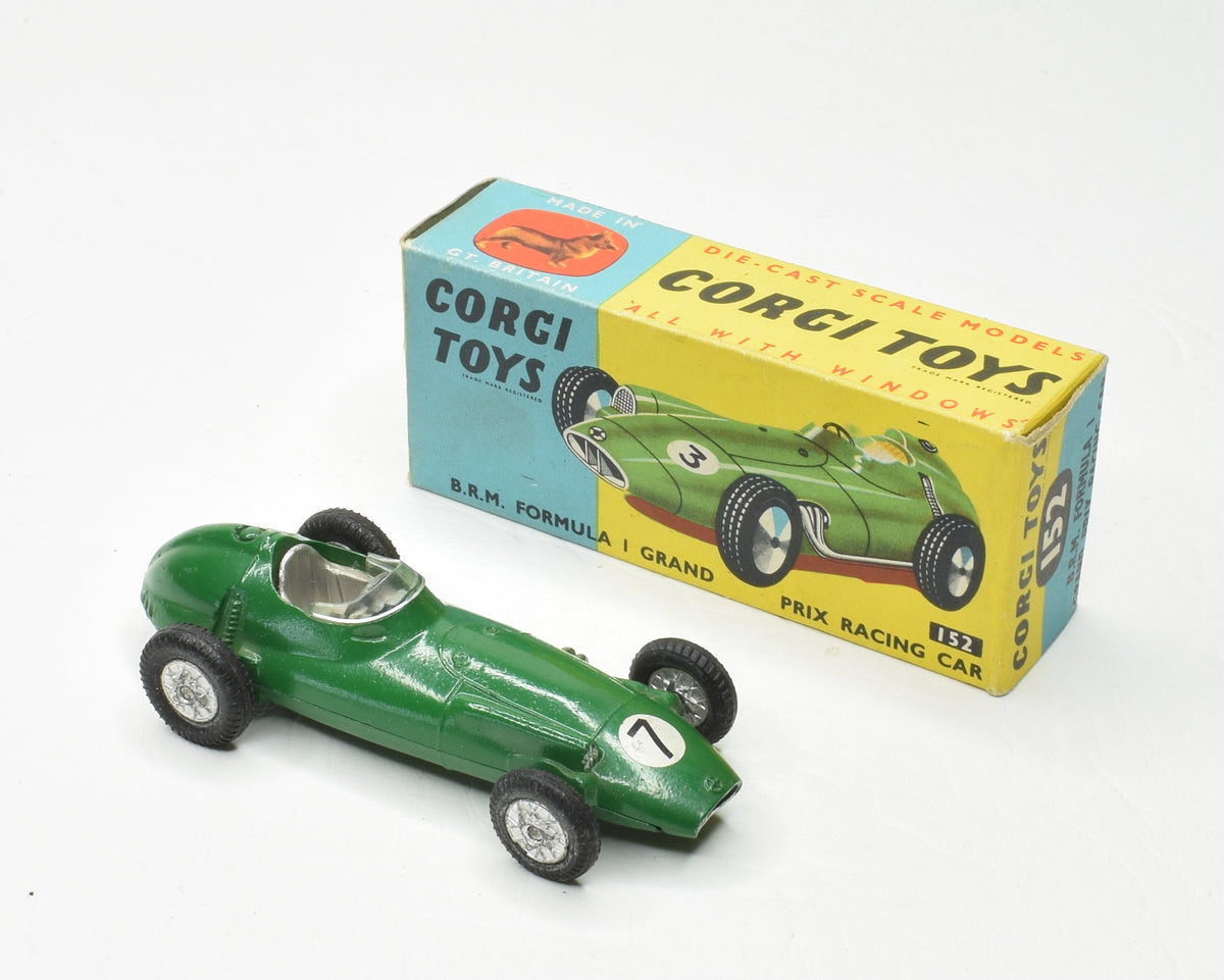 Corgi toys 152 B.R.M F1 Very Near Mint/Boxed 'P.C.R' Collection