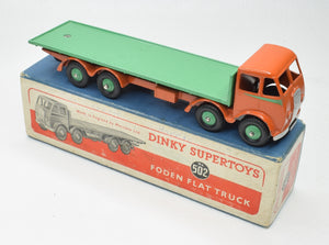 Dinky Toys 502 Foden Flat bed Very Near Mint/Boxed