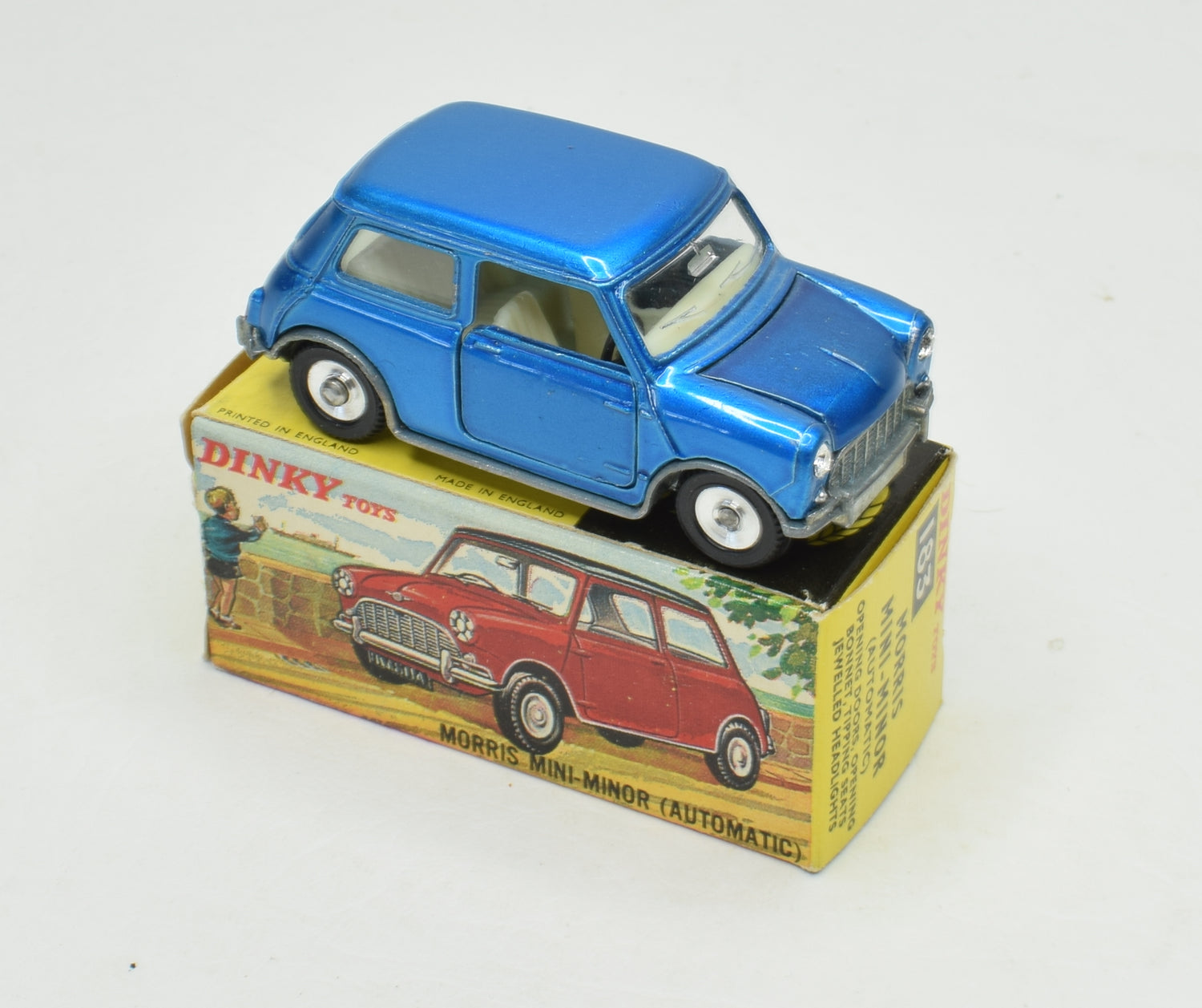 Dinky toys 183 Morris Mini Minor Virtually Mint/Boxed 'Stenland' Collection