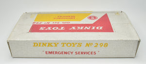 Dinky toys 298 'Emergency Services' Gift set Very Near Mint/Boxed 'Brecon' Collection