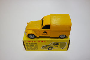 Dinky Toys 562 H 'Wegenwacht' 2 CV Citroen Very Near Mint/Boxed