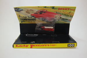 Dinky Toys 100 Fluorescent Fab 1 Very Near Mint/Boxed