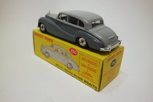 Dinky Toys 150 Rolls-Royce Silver Wraith Very Near Mint/Boxed
