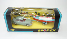 Spot-on 406 Car & Dinghy Set Mint/Boxed