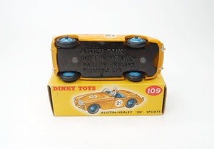 Dinky Toys 109 Austin Healey Very Near Mint/Boxed
