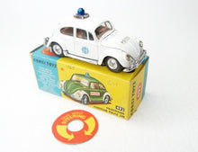 Corgi Toys 492 'Dutch Issue' European Police Car Very Near Mint/Boxed