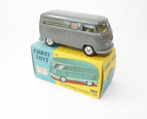 Corgi Toys 433 VW Delivery Van 'Vroom & Dreesman' Very Near Mint/Boxed