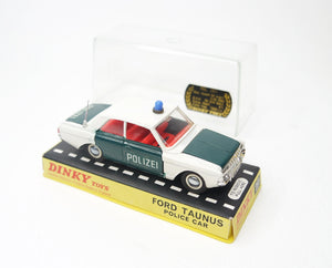 Dinky Toys 261 Ford Taunus 'Polizei' German Promotional Very Near Mint/Boxed