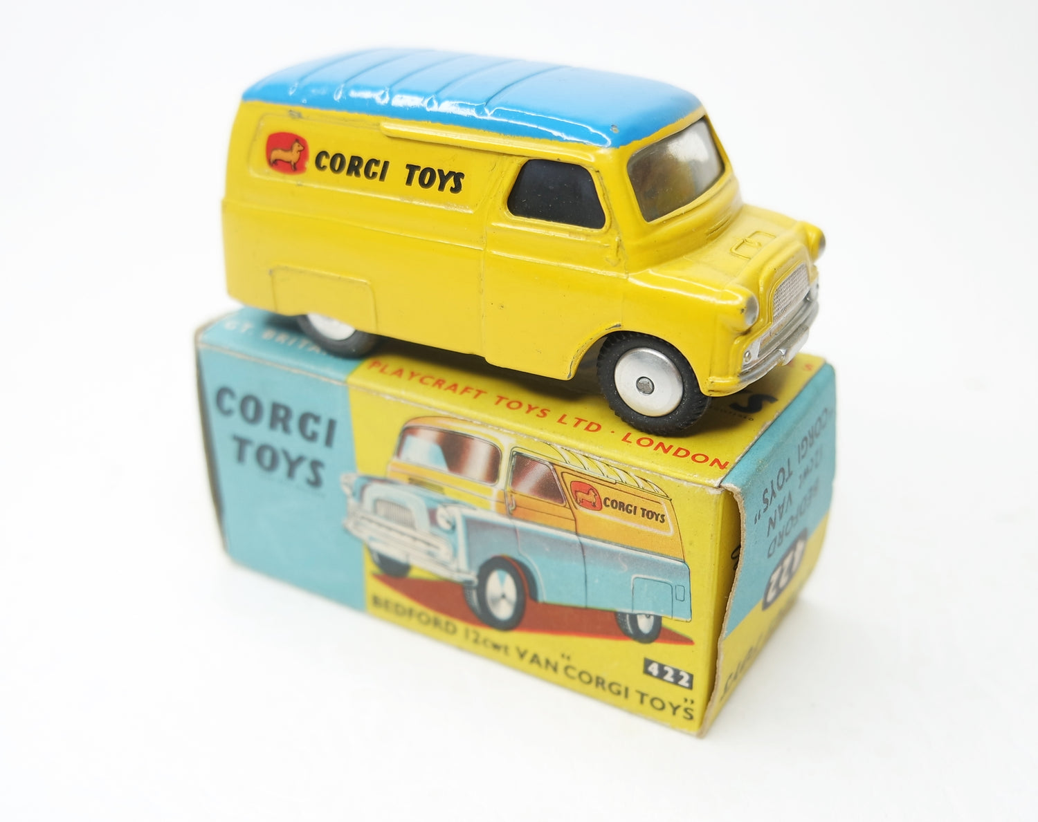 Corgi Toys 422 Bedford Van 'Corgi Toys' Very Near Mint/Boxed