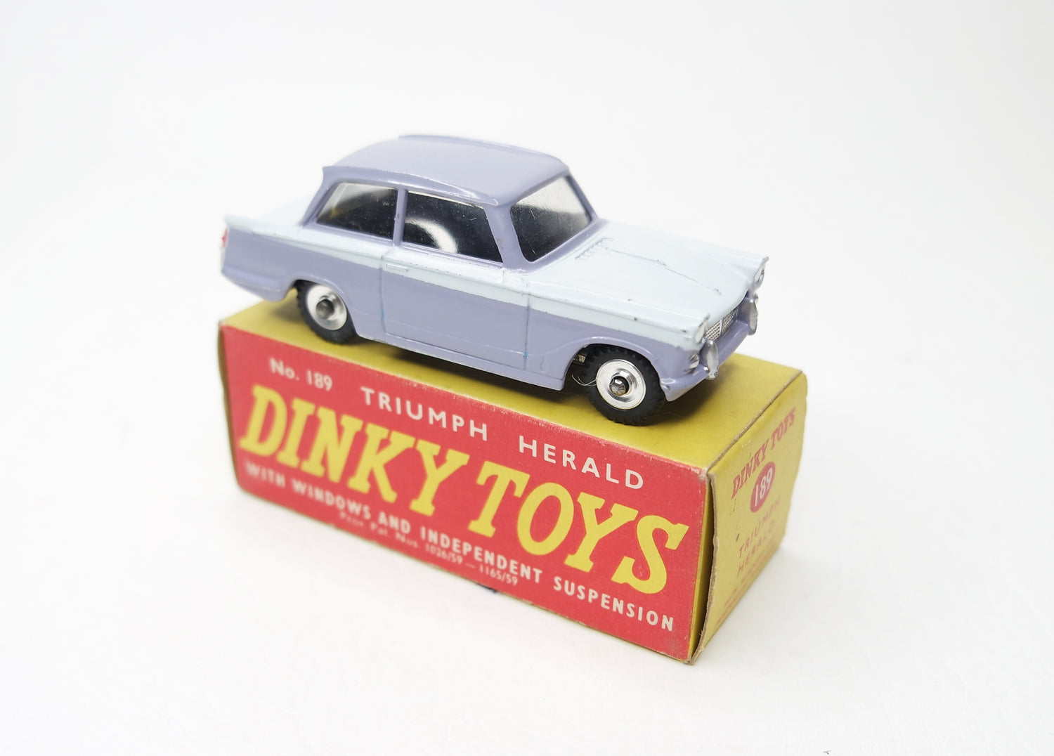 Dinky Toys 189 Triumph Herald 'Promotional' Very Near Mint/Boxed