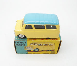 Corgi Toys 404 Bedford 'Dormobile' Very Near Mint/Boxed