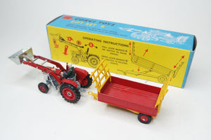 Corgi Toys Gift Set 9 Massey 165 with tipping trailer Very Near Mint/Boxed