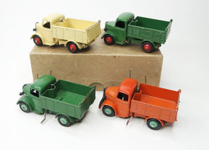 Dinky Toys 25m Bedford End Tipper Trade Set Very Near Mint/Boxed