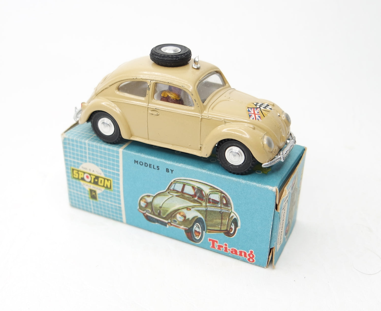 Spot-on 195 Volkswagen Beetle Very Near Mint/Boxed