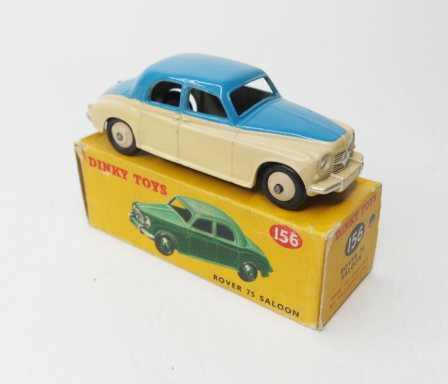 Dinky Toys 156 Rover 75 Very Near Mint/Boxed (C.C)