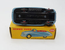 Dinky Toys 106 Austin Atlantic Very Near Mint/Boxed (C.C)