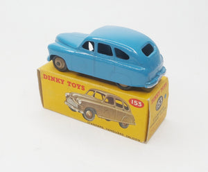 Dinky Toys 153 Standard Vanguard Very Near Mint/Boxed (C.C).