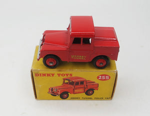 Dinky Toys 255 Mersey Tunnel Police Van Near Mint/Boxed (C.C)