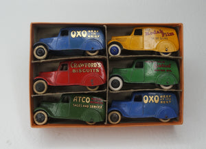 Dinky Toys 28/2 Delivery Van Trade set Near Mint/Boxed