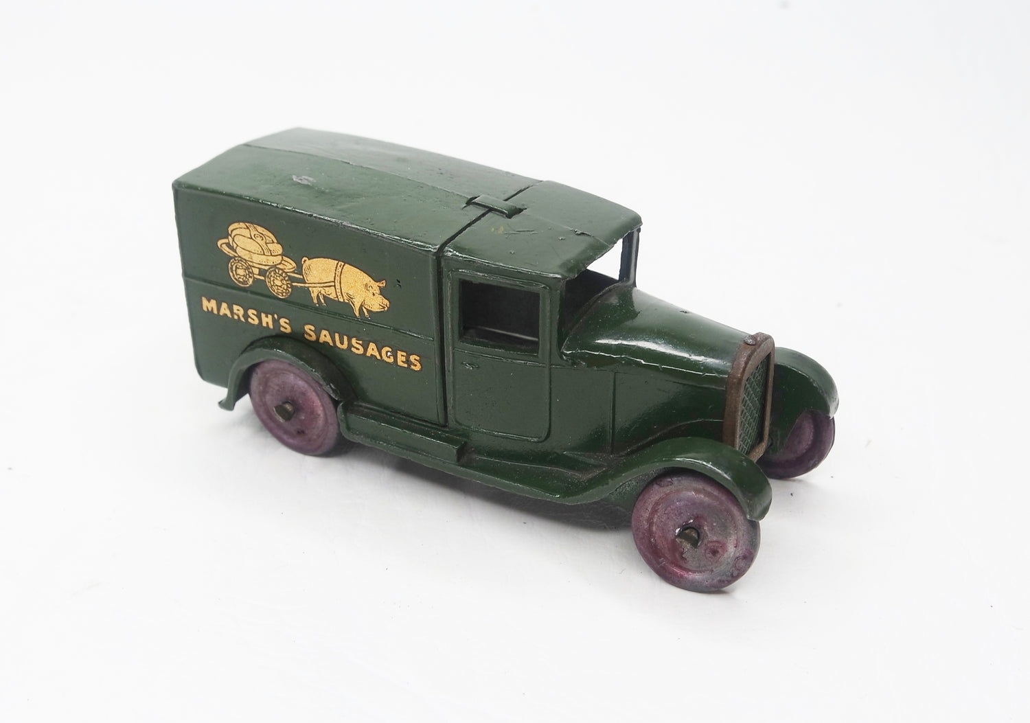 Dinky Toys 28k 'Marsh Sausages' Type 1 Delivery Van Virtually/Mint (L.C)