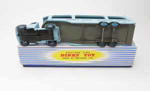 Dinky Toys 582 Pullmore Car Transporter (6 rivets) Excellent/Boxed (C.C)