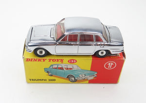 Dinky toys 135 Triumph 2000 Promotional Virtually Mint/Boxed